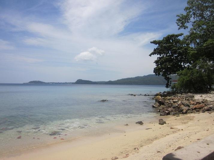 salah satu hasil jepretan abang saat kami traveling ke pulau Weh